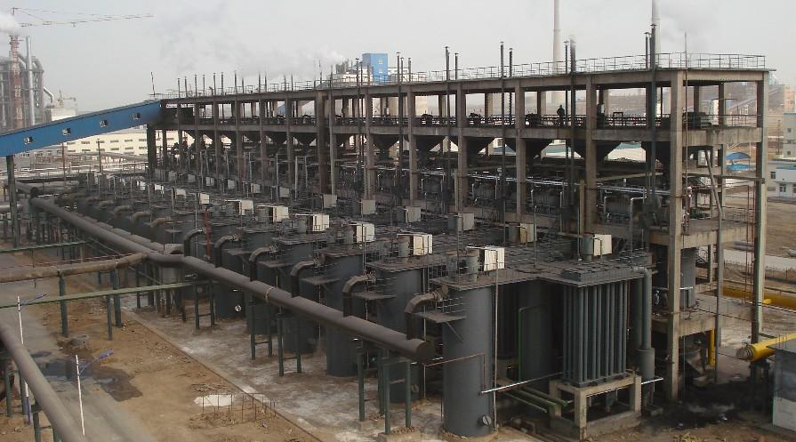 Угольный газификатор